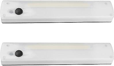 Store2508® Wireless COB LED Adhesive Magnetic Indoor Cabinet Closet Light Wardrobe Kitchen Cabinet Lamp