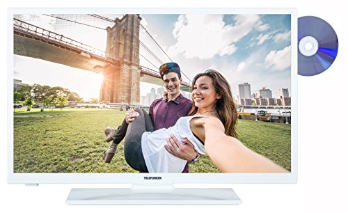 Telefunken XH28A101D-W 72 cm (28 Zoll) Fernseher (HD Ready, Triple Tuner, DVD-Player)