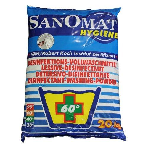 Desinfektionswaschmittel Sanomat Hygiene VAH und RKI gelistet, DGHM zertifiziert, 20 kg