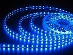 JnDee Bande LED bleue flexible lumine...