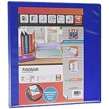 Elba, Presentation A4 Lever Arch Files, Blue, Plastic, 1 Folder