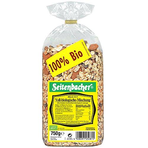 Seitenbacher Müsli voll-biologische Mischung, 750 g - Bio