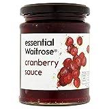 Salsa de arándano esencial 305g Waitrose