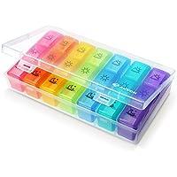 auvon imedassist Weekly Pille Veranstalter (FDA gelistet: d325782), portable am/PM-Travel Pille Box Case (7Tage... preisvergleich bei billige-tabletten.eu