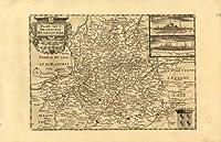 Produit :   très rares Gravure sur cuivre antique prints provient :  'Kleyne en Beknopte atlas, Tooneel des Oorlogs, in Europa ...', publié à Amsterdam par David Weege 1753., premier, et unique, très rares edition. ce travail est une nouvelle émissio...