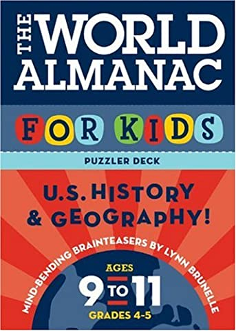 The World Almanac Puzzler Deck for Kids: U.S. History and