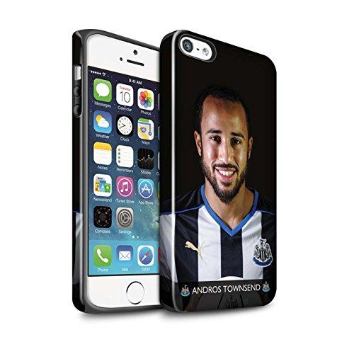 Officiel Newcastle United FC Coque / Brillant Robuste Antichoc Etui pour Apple iPhone 5/5S / Pack 25pcs Design / NUFC Joueur Football 15/16 Collection Townsend