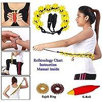 Finger wie Haken Rollkörperpflege Akupressur-Massagegerät GRATIS Sujok RING-und K-ROLL preisvergleich bei billige-tabletten.eu