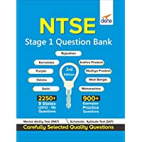 NTSE Stage 1 Question Bank - 9 States Past (2012-19) + Practice Question Bank 3rd Edition