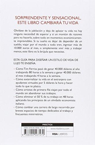 Resumen del libro de Timothy Ferriss LA SEMANA LABORAL DE 4 HORAS