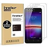 iVoler [Pack de 2] Verre Trempé Y3 2 / Huawei Y3 II [Garantie à Vie], Film Protection en Verre trempé écran Protecteur vitre (0,3mm HD Ultra Transparent)