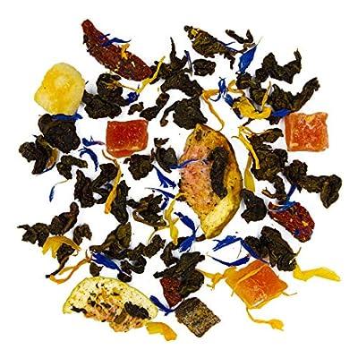 MysteryTea - ASIAN TEMPLE - Thé Oolong saveur Grenade Baies de Goji Pêche - (20 sachets de 2g = 20 tasses)