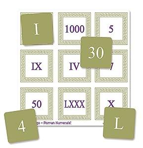 "Inspirational Classrooms 3131203 ""Roman Numeral Bingo Juguete Educativo"