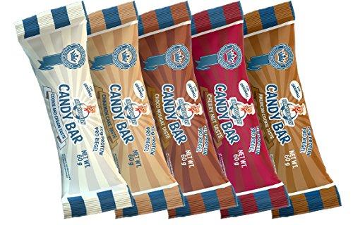 High-protein-mahlzeit-ersatz-shakes (Frankys Bakery Candy Bar Eiweiß Energieriegel Protein Kohlenhydrate Proteinriegel 12x60g (MIX BOX))