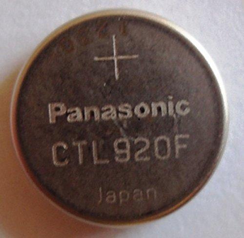 Panasonic Knopfzellen Lithium Batterie / Akku CTL920 / CTL 920 für Solar Uhren