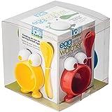 Joie 49289 Egg Watcher Coquetier avec Cuillère Plastique Multicolore 45 x 35 x 25 cm 4 Pièces