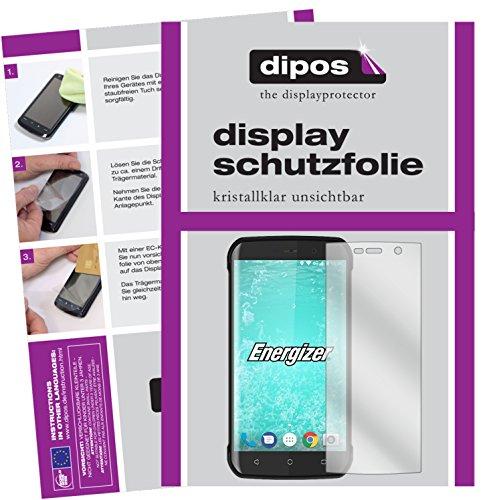 dipos I 6X Schutzfolie klar passend für Energizer Hard Case H550S Folie Bildschirmschutzfolie