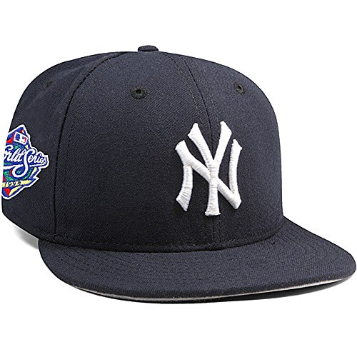 New York Yankees Mariano Rivera 1998 World Series Patch 59FIFTY Fitted Cap by New Era Size 7 1/8