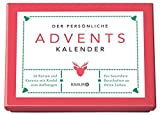 Elma van Vliet Der persönliche Adventskalender: 24 Karten und Kuverts, mit Kordel zum Aufhängen