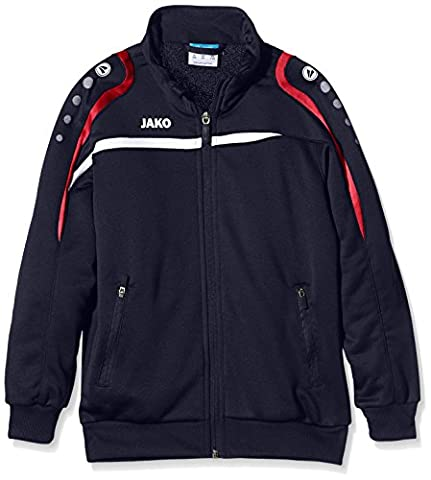 Jako Kinder Trainingsjacke Performance, Marine/Weiß/Aqua, 128, 8797