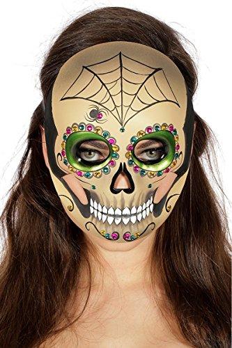 r Toten Halloween Day of the Death zum Kostüm Schädel Halloween ()