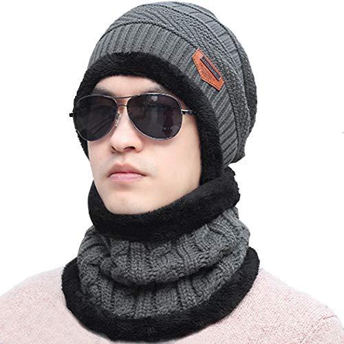 Bestele Caldo Cappello e Sciarpa Set per Uomo Donna 93b1a90d4594