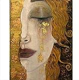 DHLZ Gold reißen von Gustav Klimt voller Platz & runde 5d DIY Diamant malerei Diamant Stickerei kreuzstich mosaik Aufkleber Geschenk 50 * 70 cm