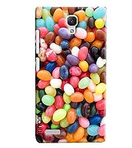 Omnam Colorful Gems Or Pebble Printed Designer Back Cover Case For Xiaomi Redmi Note Prime