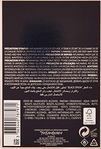 Yves Saint Laurent Damen Black Opium Parfüm, 90ml