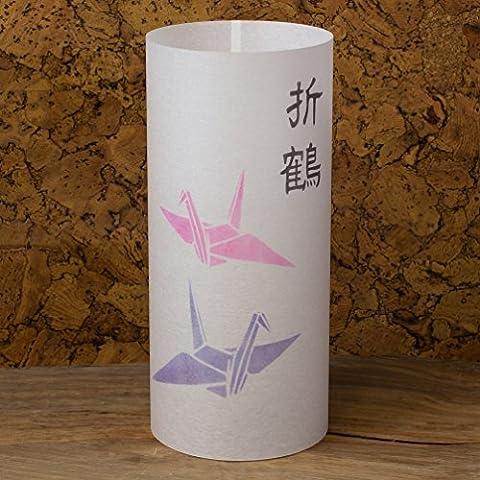 ORIZURU - Lampe japonaise faite à la main - Grue en papier du Japon