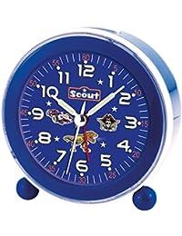Scout Wecker blau 280001040, LED-Zifferblattbeleuchtung