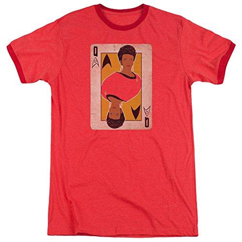 Star Trek Herren T-Shirt Rot