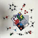 240pcs struttura molecolare kit modello di costruzione laboratorio chimica set giocattoli educativi di scienza