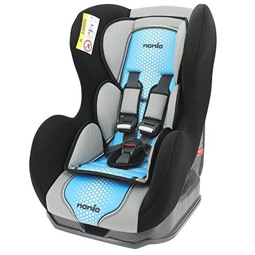 Preisvergleich Produktbild Autositz von 0bis 18kg, mit seitlichen Protektoren–Herstellung 100% Französisch–3Sterne Test TCS–4Farben–Kopfstütze und Sitzfläche gepolstert