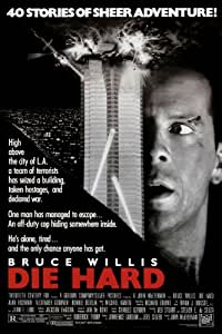 DIE HARD MOVIE POSTER PRINT APPROX SIZE 12X8 INCHES