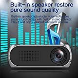 High Definition 1080P Portable LED Projector Mini Home Use Projector With Speaker Good for Preschool Education