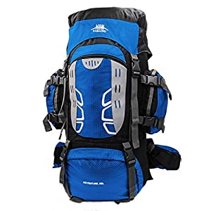 51ruQMjnwGL. SS300  - Mooedcoe 75L Large Hiking Backpack Outdoor Sports Water-Resistant Travel Daypack Mountaineering Climbing Trekking…