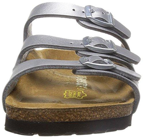 Birkenstock Florida , Chaussures femme Argent (954383_Silber)