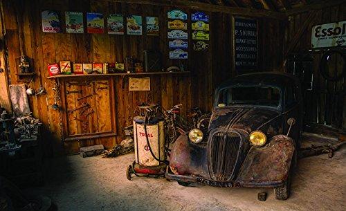 Wandbild US Tankstelle