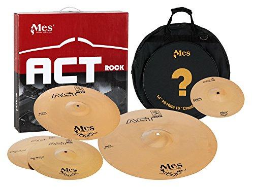 Mes ACT Rock Series Becken Set Effect (10