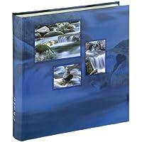 Hama 106255 Álbum de fotos (100 páginas, vidrio), color azul