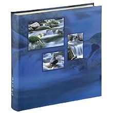 Hama Singo Jumbo Photo Album | 30 x 30cm 100 Pages | Blue Nature, Aqua, 30 x 30 cm, 50 Sheets, 400