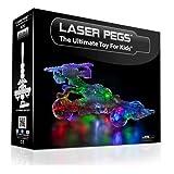 Laser Pegs Kit Macchina da Corsa, 12 in 1