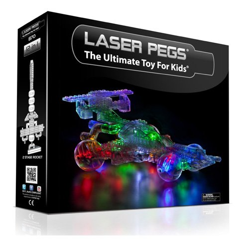 Laser Pegs - Racing Car 12 in 1 Kit - Spielzeug -