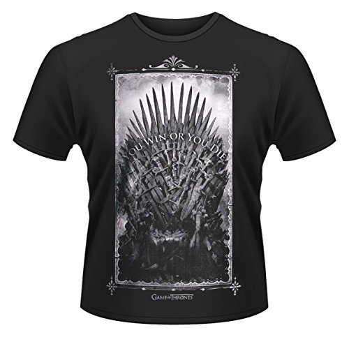 GAME OF THRONES WIN OR DIE      TS MEDIUM Schwarz
