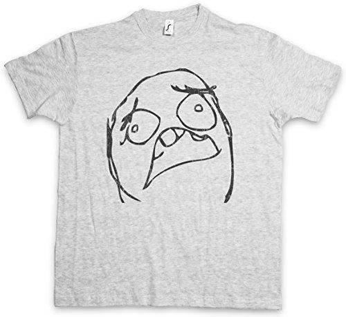 Horror Meme T-Shirt – Taglie S – 5XL Ash