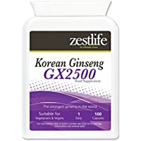 Zestlife coreani (Panax) Ginseng GX2500 / 100 Capsule | Un