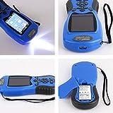 Longspeed NF-198 GPS-Testgeräte GPS-Landmesser LCD-Anzeige Messwert Abbildung Vermessung und Kartierung von Ackerflächen - Blau