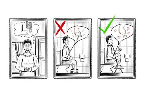 Zoom IMG-3 trend welt sgabello per toilette
