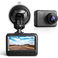 Caméra Embarquée de Voiture 1920 * 1080P Full HD 12MP 170°Grand-Angle 2,45 Pouces IPS-Fonction Automatique Détection de Mouvement-Vision Nocturne- Siroflo Dashcam (Micro SD Non Compris)